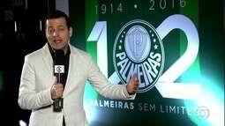 Palmeiras completa 102 anos de história e faz homenagem a ídolos