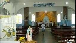 Começa as comemorações do Jubileu de Ouro da Igreja Nossa Senhora da Consolação em MOC