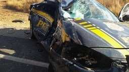 Policial que serviu nas Olimpíadas morre em acidente na BR-050, diz PRF
