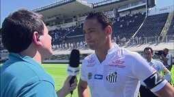 """Ricardo Oliveira lamenta derrota em casa: """"Faltou ser efetivo"""""""