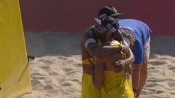 Pedro e Evandro são campeões no vôlei de praia em Long Beach