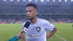 """Luis Ricardo após a derrota para o Atlético-PR: """"No 2º tempo, só deu Botafogo"""""""