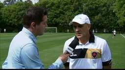 Itamar Schülle fala sobre jogo contra o Palmeiras