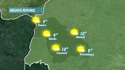 Temperaturas ficam mais baixas nesta quarta-feira