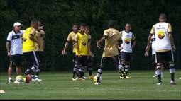 Botafogo-PB treina no CT da Barra Funda para jogo contra o Palmeiras