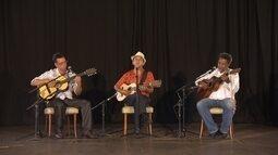 Três mestres da viola apresentam repertório no Globo Horizonte