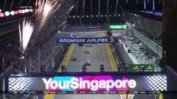 Nico Rosberg vence em Cingapura e assume liderança do Campeonato