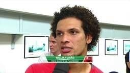 """Arão descarta pressão extra: """"Independentemente do Palmeiras, temos que vencer"""""""