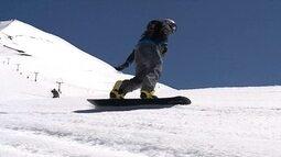 Brasileiros se preparam para o Brasileiro e Sul-Americano de snowboard no Chile