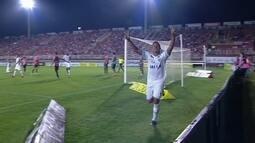 O gol de Joinville 0 x 1 Avaí pela 27ª rodada da série B do Brasileirão
