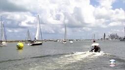 Mais de 50 barcos participam da Regata Recife-Fernando de Noronha