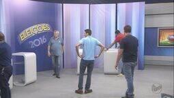 Cinco candidatos à Prefeitura de Franca (SP) participam de debate na EPTV