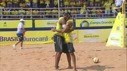 Pedro Solberg e Evandro conquistam o bronze no Circuito Brasileiro de Vôlei de Praia