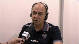 Marcelo Oliveira elogia Internacional, lamenta gol sofrido e diz que Atlético é candidato