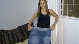 Mudança de rotina faz mulher perder 21 quilos