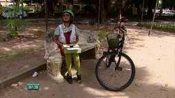 Doutores da alegria fazem 'boboclismo' no Recife