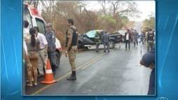 Três pessoas morrem e duas ficam feridas em acidente na LMG-654