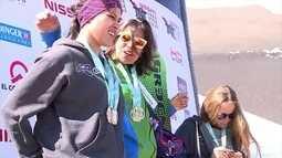 Isabel Clark vence etapa do Sul-Americano de snowboard