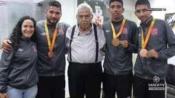 Vasco TV - Atletas do Vasco medalhistas paralímpicos falaram da emoção na olimpíada