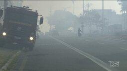 Número de queimadas aumenta na Grande São Luís