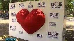Campanha Doe de Ciração incentiva a doação de órgãos e promove ação na Praça do Ferreira