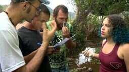 SOS Mata Atlântica faz projeto de monitoramento do Rio Jucu
