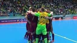 Rússia derrota o Irã em jogo emocionante e chega à decisão do Mundial de Futsal
