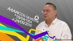 Veja homenagem ao narrador Marcos Silvestre