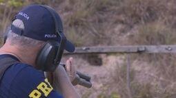 No Amapá, PRF reforçou o treinamento de agentes para o uso de armas de cano grosso