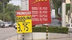 Preço da gasolina tem redução em Manaus