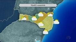 Sexta-feira (30) será de sol entre nuvens e temperaturas amenas em SC