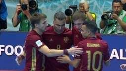 Final do Mundial de futsal com cara de Brasil x Argentina