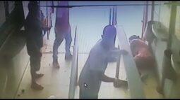Polícia procura ladrões que usaram marreta para assaltar lotérica na Estrutural