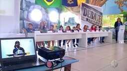 Escola em Currais Novos simula eleição para ensinar alunos