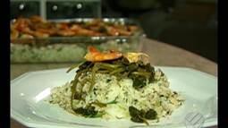 Veja a receita do arroz de caranguejo com leite de coco, jambu e tucupi