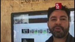 Jornalista dá dica sobre jornalismo na Venezuela pelo aplicativo Na Rua GloboNews