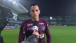 Gatito Fernández destaca importância de conquistar ponto fora de casa