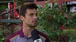 Rodrigo Caio pede que Tricolor mantenha pegada da vitória sobre o Flu no jogo ante a Ponte