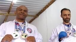 Caratecas de Montes Claros voltam com medalhas do Brasileiro