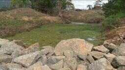 Construção de barragens continuam em Aracruz, Norte do ES