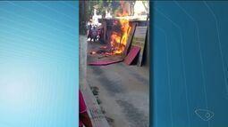 Hospital é atingido em incêndio em São Gabriel da Palha, Noroeste do ES