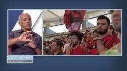 Júnior analisa duela entre Flamengo e Corinthians no Maracanã