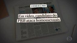 Jornais publicam vídeos com novas declarações de Crivella sobre homossexuais e religião