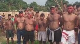 Índios Munduruku fazem engenheiro e operários reféns em aldeia no Pará