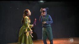 Dois espetáculos infantis são apresentados no Teatro do Boi