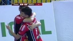Os gols de Assoeva 2 x 3 Joinville pela Liga Nacional de futsal