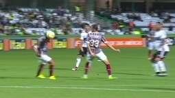 Os gols de Coritiba 1 x 1 Fluminense pela 32ª rodada do Brasileirão 2016