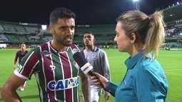 """Giovanni comenta gol perdido e resultado contra o Coritiba: """"Foi uma derrota para a gente"""""""