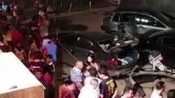 Carro desgovernado invade bar e mata garçom em Ceilândia