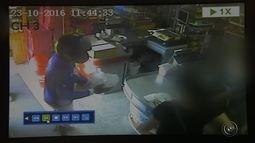 Circuito de segurança registra assalto em supermercado de Marília